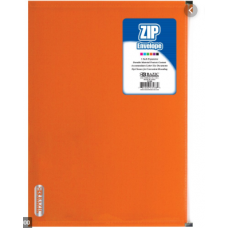 BAZIC ZIP ENVELOPE ASSRTD COLOR