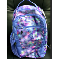 CURVE DAYPACK Purple Pinks dots