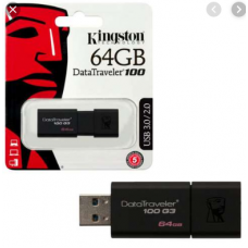 KINGSTON 64GB FLASHDRIVE