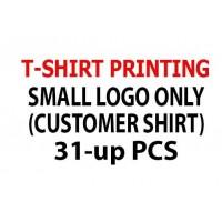 T-Shirt Printing only 31-up pcs