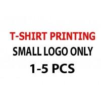 Print Small Logo Only 1-5 pcs