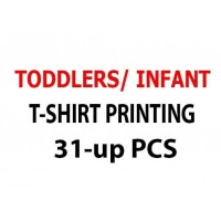 Toddlers/ Infant T-Shirt Printing 31-up pcs
