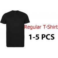 Regular T-Shirt 1-5 pcs
