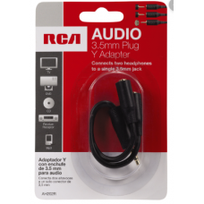 RCA MINI STEREO HEADPHONE Y ADAPTER