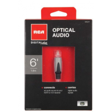 RCA OPTICAL AUDIO CABLE 6FT
