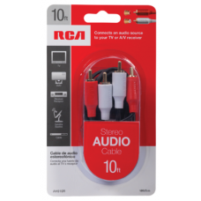 RCA STEREO CABLE 10FT